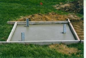 Preparing a pier foundation for your house