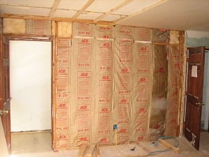 Learn to soundproof an existing wall with another wall Part 1