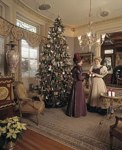 Ideas to decorate your house for a Victorian Christmas