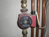 Troubleshooting the rattling noise made by a central heating unit