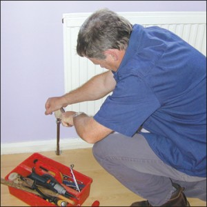 Central heating problem: strange smell