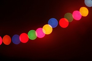 Make your own Christmas light orbs