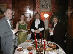 Ideas for a Victorian Christmas party