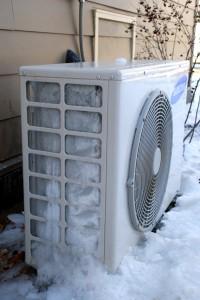 Est-ce que la chaleur centre de geler à cause du froid?