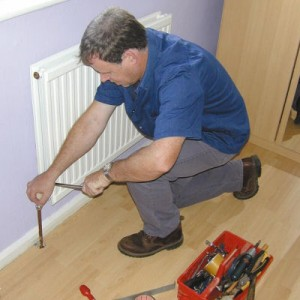 Setting up a central heating system
