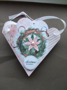 Learn to make cone Victorian Christmas ornaments