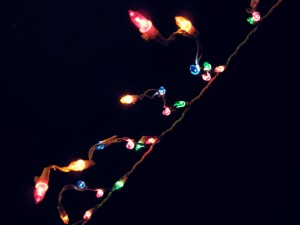 Repairing a string of Christmas lights