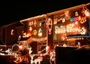 What Is the Tradition of Christmas Lights on Houses?