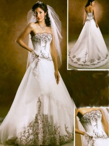 Ideas for customized wedding dresses