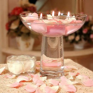 Some ideas for spring wedding centerpieces