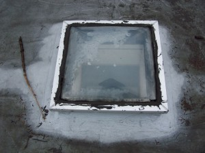 Learn to repair leaks around skylights