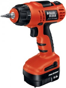 Using cordless power tools