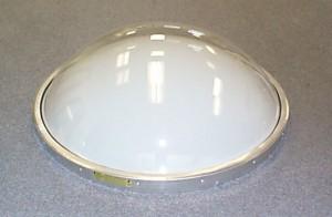 Consertar o vazamento em uma clarabóia de cúpula
