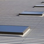 What skylights work on a flat roof?