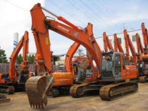 How to check a used excavator