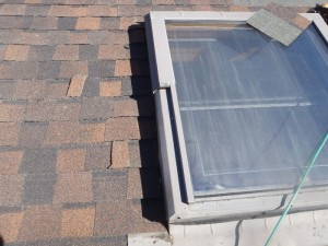 Fix the leaks of a skylight
