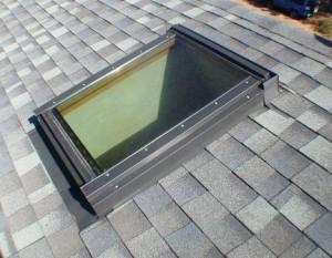 Ways to flash a skylight with metal flashing
