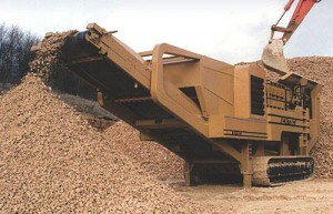 What do you need to perform aggregate crushing?