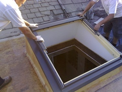 Skylight home installation