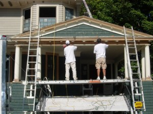 Becoming an exterior house painting contractor