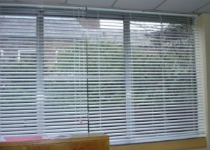 Various types of window blinds
