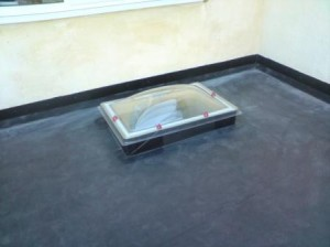 Do skylights work on a flat roof?
