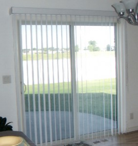 What blinds work with patio doors?