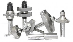 Construction, Information about router bits  
