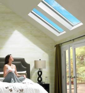 Installing Velux skylights