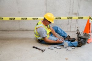 Construction, Take care from industrial accidents