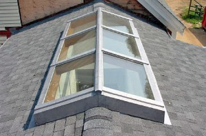 How to re-screen a skylight