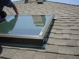 Learn to install a frame in a skylight