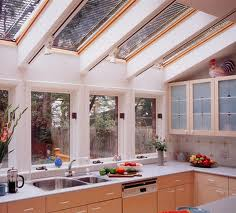 Learn to make a skylight into the kitchen