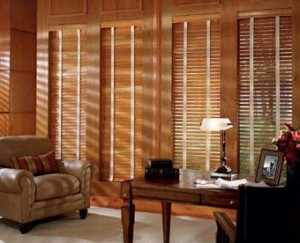 How to enhance wooden blinds