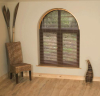 What type of blinds work with arched windows