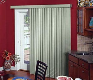 What blinds work with sliding glass doors