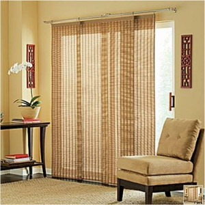 Information on vertical blinds for sliding glass doors