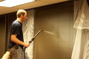 Leer om grondig te reinigen de blinds