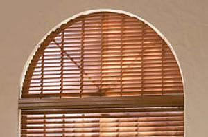 Leer om blinds te installeren op een boog venster