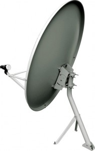 The functioning of satellite dish