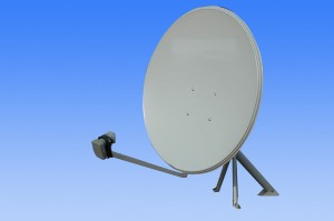 TV, How to align a dish antenna