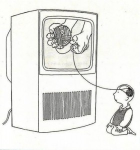 How television affects the brain