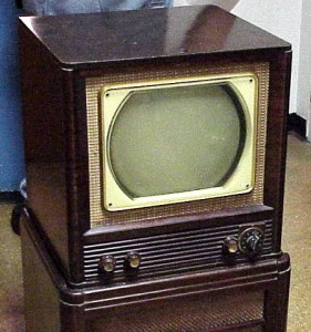 Hoe was televisie in 1950?