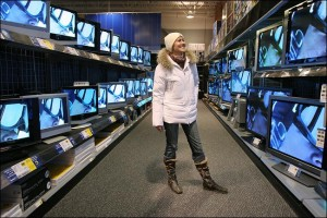 Which is the best period for buying a TV?