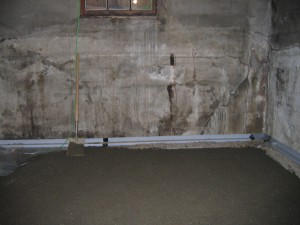 Drainage solutions for the basement
